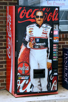 Dale Earnhardt coke machine